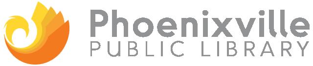 Phoenixville Public Library Retina Logo